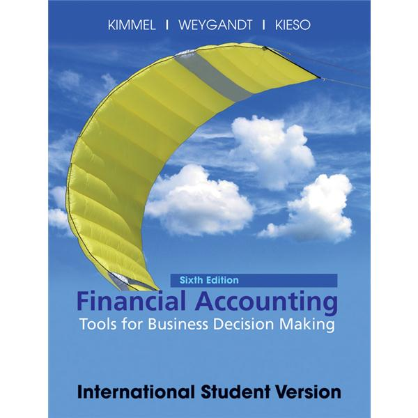 byp 13 7 of financial accounting tools for business decision making Welcome to the web site for managerial accounting: tools for business decision making, 7th edition by jerry j weygandt, paul d kimmel and donald e kieso this web site gives you access to the rich tools and resources available for this text.